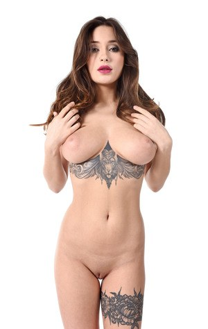 Huge Natural Tits Pictures and Big Boobs Tattoo Porn